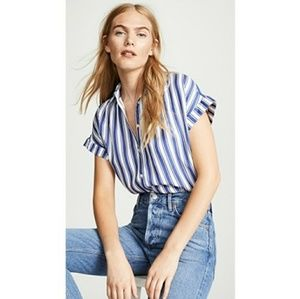 Madewell Central shirt in Oxford stripe